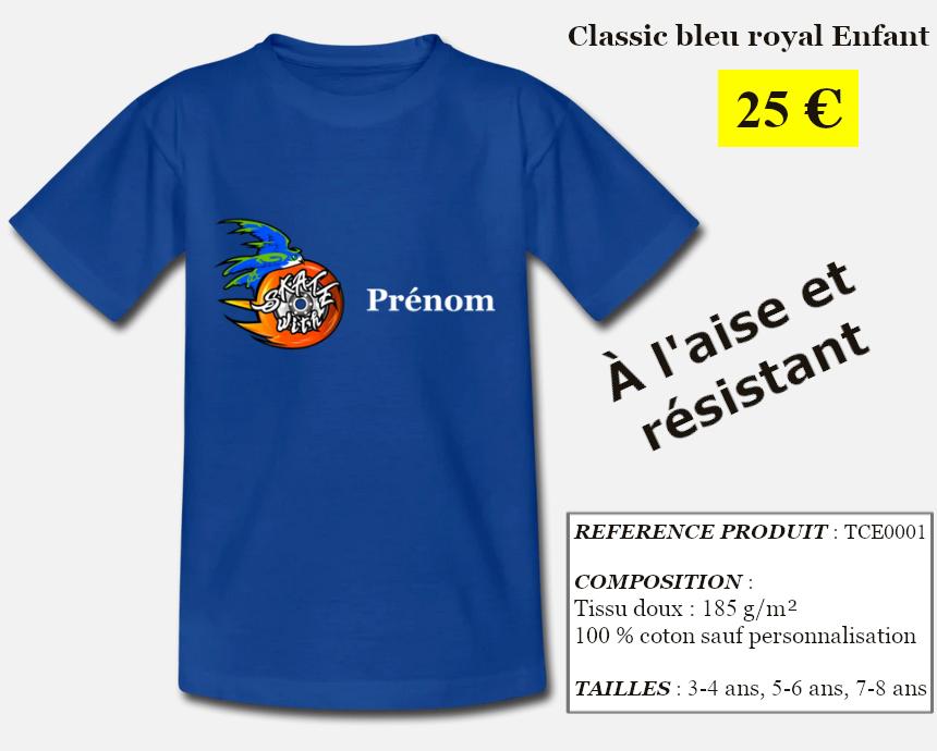 Skate With Infos Produit T-shirt Classic Enfant