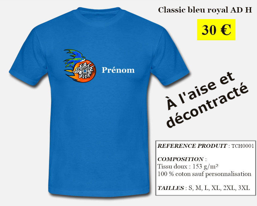 Skate With Infos Produit T-shirt Classic Adulte Homme